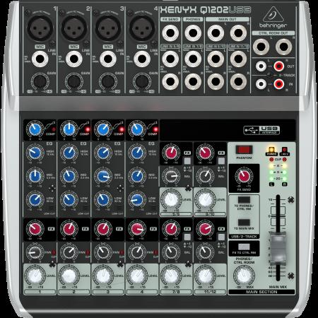 Behringer XENYX Q1202USB Small Format Mixer