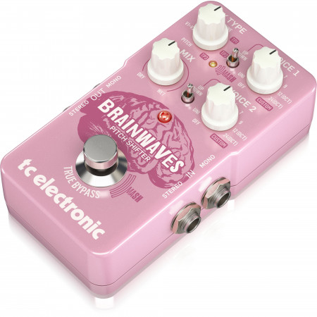 TC Electronic Brainwaves Pitch Shifter Effect Pedal