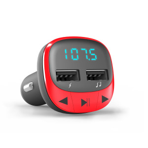 Energy Car Transmitter FM Red