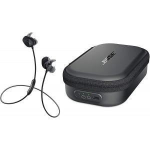 BOSE bezdrôtové slúchadlá SoundSport Wireless anabíjacie púzdro, čierne