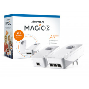 devolo D 8506 Magic 2 LAN triple power socket adapter Starter Kit