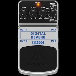 Behringer DR600 Digital Reverb Effects Pedal