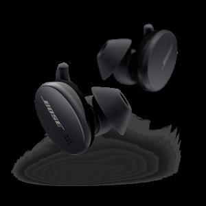 Bose Sport Earbuds, bezdrôtové slúchadlá, čierne