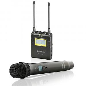 Saramonic UwMic9 Kit4 RX9+HU9 Wireless Handheld Microphone System